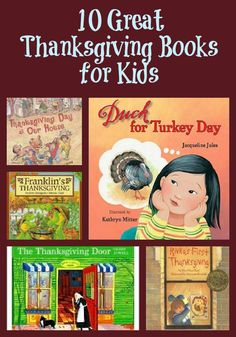 Great Thanksgiving Books for Kids from KC EDventures