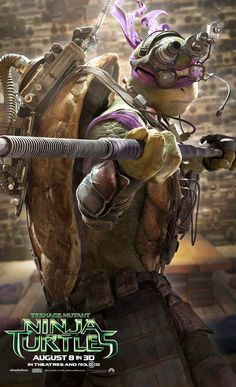 I think Donatello is going to be my favorite one in this new movie!
