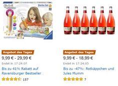 Ravensburger-Rabatt: Tiptoi & Co. zu Top-Preisen https://www.discountfan.de/artikel/technik_und_haushalt/ravensburger-rabatt-tiptoi-co-zu-top-preisen.php Für einen Tag sind bei Amazon sechs Ravensburger-Produkte zu Top-Preisen zu haben: Neben dem beliebten Tiptoi-Stift gibt es drei weitere Tiptoi-Sets sowie zwei Ministeps-Artikel. Ravensburger-Rabatt: Tiptoi & Co. zu Top-Preisen (Bild: Amazon.de) Der Ravensburger-Rabatt bei Amazon gilt nur am ... #Kinder, #Spiele