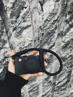 Short climbing rope camera strap graphite / Camera hand strap from climbing rope / Camera strap / Wrist strap Camera Hand Strap, Camera Straps, Climbing Rope, Photo Equipment, Leica Camera, Gifts For Photographers, Photography Gear, Types Of Cameras, Stitching Leather