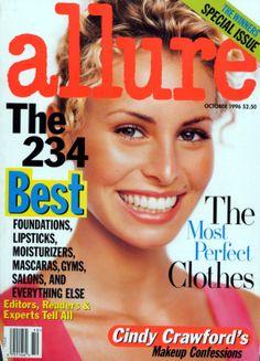 Niki Taylor , Allure magazine october 1996