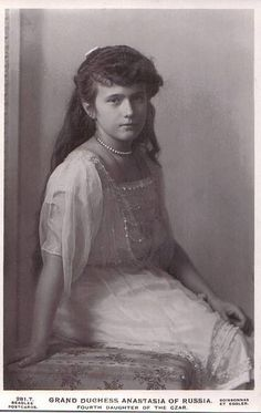 Großherzogin Anastasia von Russland, Grand Duchess of Russia by Miss Mertens, via Flickr