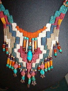 Weaving with needle Details / Detaylar