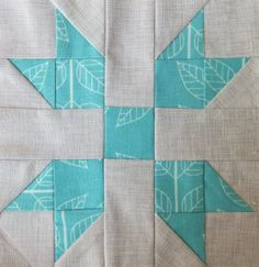 Farmer's Wife Block Butterfly at the crossroads