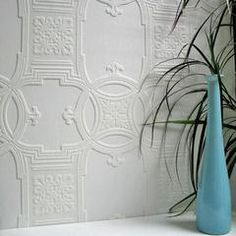 Early Victorian Paintable Textured Wallpaper Design By Brewster Home F