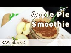 How to Make a Smoothie (Apple Pie Recipe) in a Vitamix 750 by Raw Blend - YouTube    Pinned by AKT.