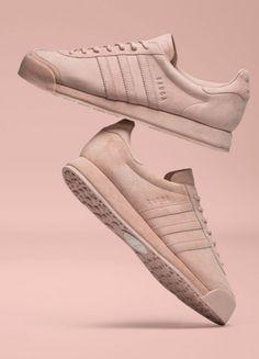 "d565edd43f Samoa ""Pigskin"" in Vapour Pink Adidas Schuhe"