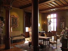 Chaumont (Loir-et-Cher) - le Château - - Grand salon