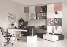Aranżacje wnętrz - Pokój dziecka: Pokój dla nastolatka - MebleVOX . Przeglądaj, dodawaj i zapisuj najlepsze zdjęcia, pomysły i inspiracje designerskie. W bazie mamy już prawie milion fotografii!