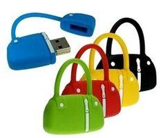 4GB Fashion Handbag Design USB Flash Drive