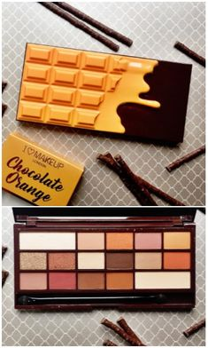 Makeup Revolution Chocolate Orange Palette Review & Swatches - Cruelty Free Makeup - I Heart Makeup