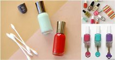 10  interesting ways you can put your nail polish to good use