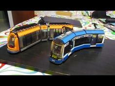 motorized tram from 8404 Public Transportation set using 9-volt electric train…
