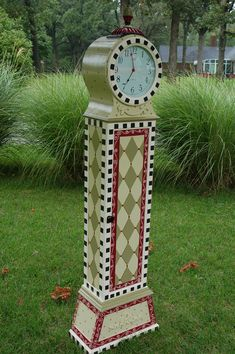 Once Upon A Time | Hand Painted Floor Clock | madteapartyfurniture | Flickr