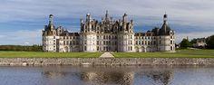 chateau de chambord - Début de la construction = 1519/ Roi =François 1er