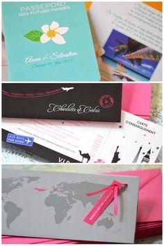 Desitination Wedding invitation French designer Elsa from www.latelierdelsa.com #wedding #invitation #fairepart #mariage #latelierdelsa