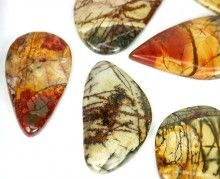 Redcreek Jasper has such great patterns. Love the pencil-like markings!