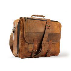 Travel Bag Leather - leather bag luggage bag - x x - A.