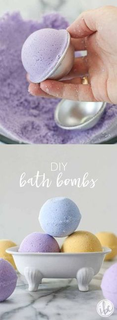 Best DIY Bath Bombs For Spa Day at Home - DIY Bath Bombs - Easy DIY Bath Bomb Recipes For You To Make At Home. These Are Made With Easy, Natural Recipe Ideas And Are Great For Sensitive Skin. Some Are Made Without Citric Acid And Without Epsom Salt So You Can Get That Scented And Lush Feel On Your Skin Without Irritation. Try Ones For Kids For A Fun Galaxy Bath Time. These Homemade Bath Bombs Are Relaxing And Can Be Made Organic Too. Try Them With Glitter Or Colorful Ingredients Using These…