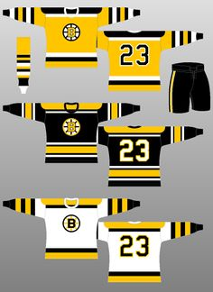 f8f5a8369 Boston Bruins - The (unofficial) NHL Uniform Database