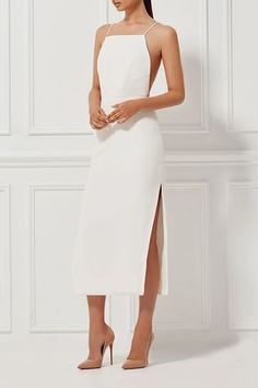 ALESSANDRA SILK DRESS MILK - Shop