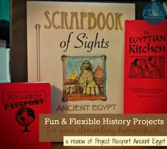 Take A Tour of Ancient Egypt with Project Passport | Our Catholic Homeschool