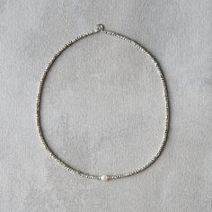 Pearl & Glass Necklace