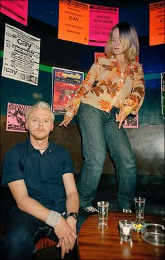 Simon Pegg & Jessica Hynes - Writers of Spaced