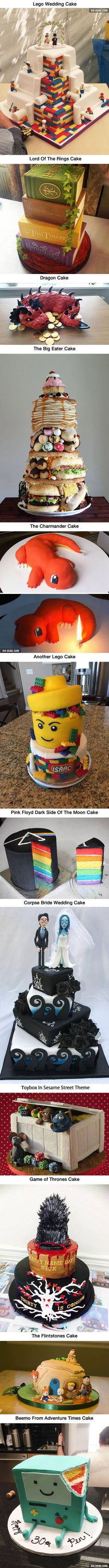 Creative Geeky Cakes That Are Too Cool To Eat