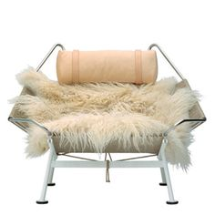Relax with Flag Halyard Chair by Hans J. Wegner