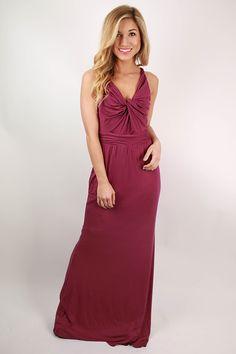 Ready to Sail Maxi Dress in Royal Lilac
