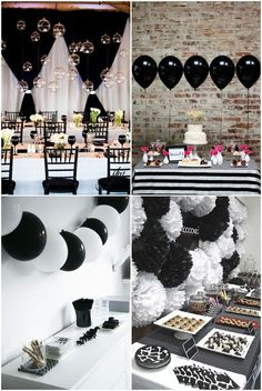 Simple Ideas Blanco y Negro Partido
