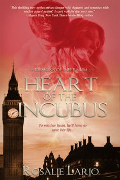 Review: Heart of the Incubus by Rosalie Lario - Delighted Reader, #3.5 Demons of Infernum, Paranormal Romance