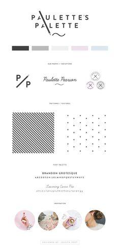 Brand Board   Style Guide   Logo Design Artist Logo   Illustrator Logo Artist…