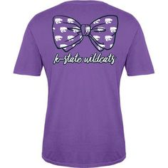 KSU Favorite Bow Tee - Women | K-State Super Store