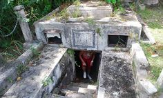 The Chase Vault in Barbados. Dare to pay a visit there this #Halloween? #travel