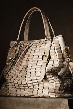 The Burberry Regent Street Collection✤ good idea on embellishment