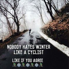 Can't wait for spring and ice-free roads :)