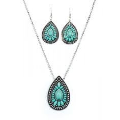 PURE WESTERN IRIS JEWELLERY SET The perfect set for all occasions. $49.95