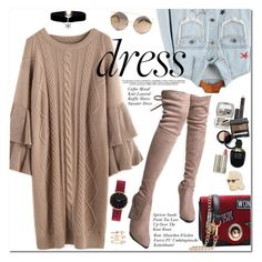 """""""Winter Dresses Under $100"""" by oshint ❤ liked on Polyvore featuring Alexander McQueen, Ilia, Georgia Perry, Abbott Lyon and Andrea Fohrman"""