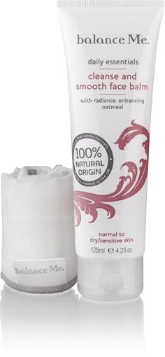 Affordable skin care: Cleansing balm by Balance Me. 100% natural with oatmeal, for normal to dry/ sensitive skin