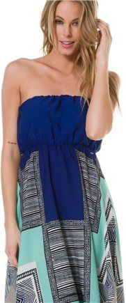 ROXY FLOATING BY MAXI DRESS