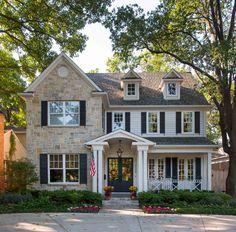Dream Home Design, My Dream Home, House Design, Style At Home, Future House, Suburban House, American Houses, Dream House Exterior, Colonial House Exteriors