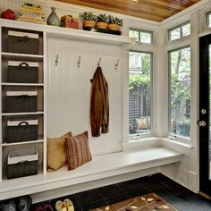 Entry Built In Storage Design, Pictures, Remodel, Decor and Ideas - page 2