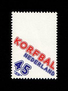 Korfbal-dutch-stamp nederland