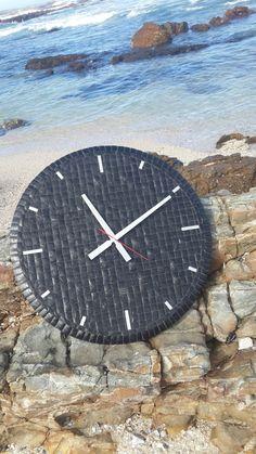 Black Mussel Wall Clock