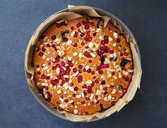 Prăjitură cu afine și merișoare (fără zahăr) Weight Watchers Desserts, Food, Essen, Meals, Yemek, Eten