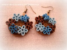Quilling Earring Jewerly