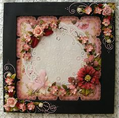 Hi everyone, Hope everyone is doing well!!!! I have been busy making these framed pages, My daughter inlaw Kenz has alittle shop  so I am ...