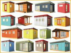 mid century shed - Google Search